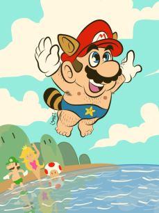 Super Mario, por Ismael Álvarez