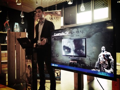 Presentación de GOW Ascension en Barcelona