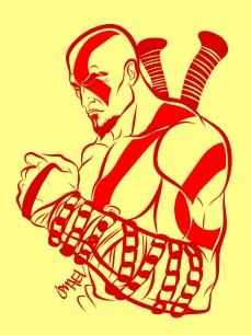 Kratos, por Ismael Álvarez