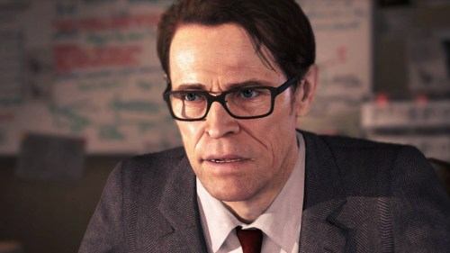 Willem Dafoe en Beyond Two Souls... la cartera de Sony es infinita