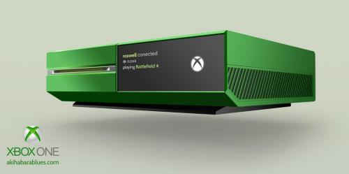 Xbox One Green, by Roswell