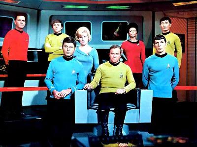 Star Trek Original Cast - Scott Chekov McCoy Chapel Kirk Uhura Spock Sulu