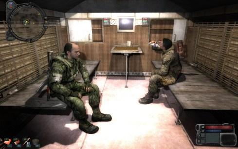 Dramatización: imagen del equipo de desarrollo de Metro Last Light trabajando a tope