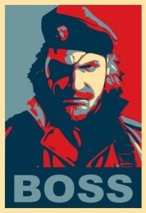 Arte inspirado en Snake y Metal Gear
