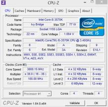 CPU sin OC