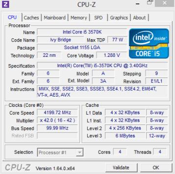 CPU con OC