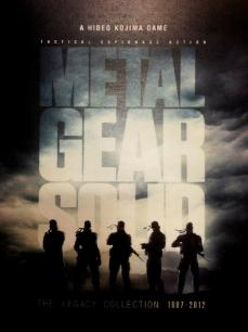Poster de Metal Gear Solid The Legacy Collection