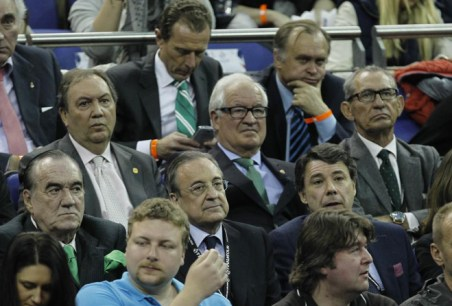 A Florentino le gusta la Euroliga. A Butragueño, el Limbo de iOS.