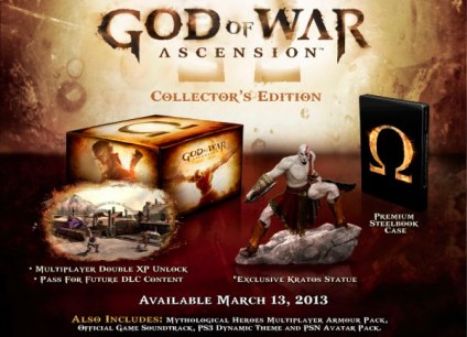 God of War Ascesion Coleccionista