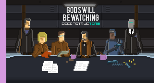 Gods will be Watching logo