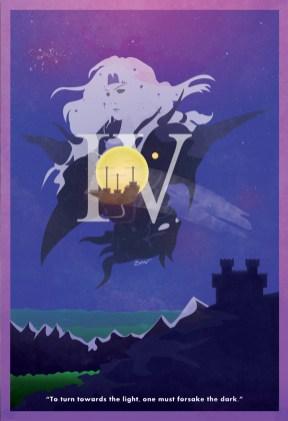 FFIV Minimalist Poster