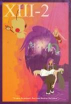 FFXIII-2 Minimalist Poster
