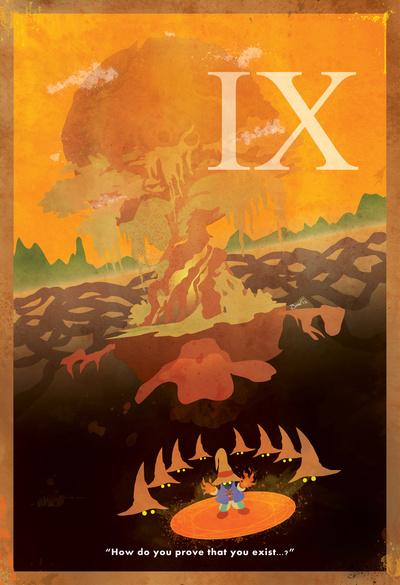 Minimalist Final Fantasy IX Poster
