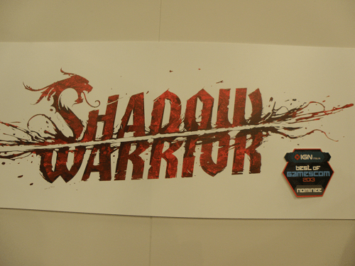 Gamescom Shadow warrior