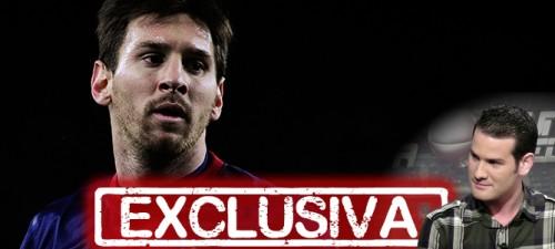 Leo Messi en Punto Pelota