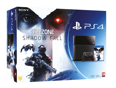 Pack PS4 + KillZone Shadow Fall
