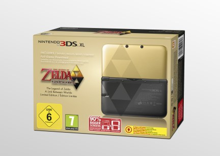 Nintendo 3DS Edición The Legend of Zelda A Link Between Worlds