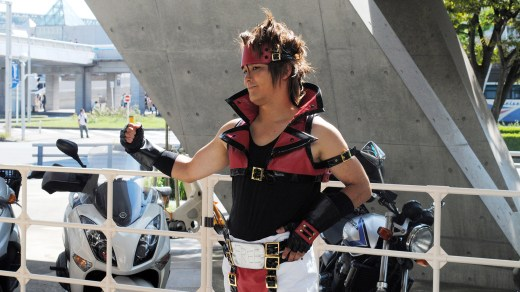 tgs 2013 fighter cosplay