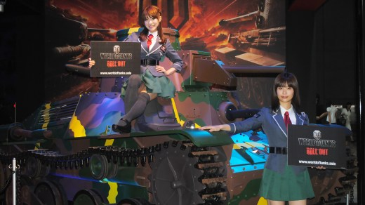 TGS 2013 Babes World of Tanks