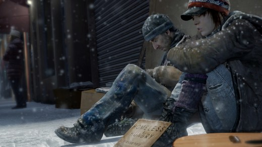 Beyond Two Souls homeless