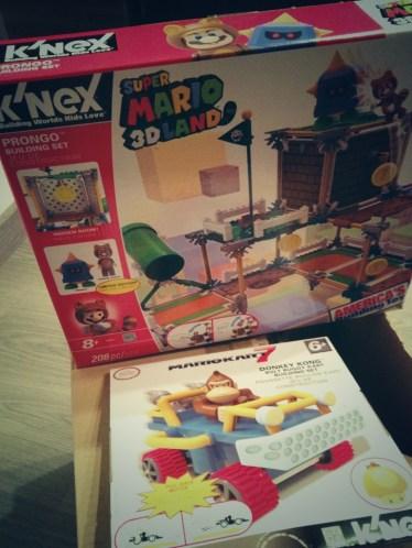 Productos Mario Bros. de K'Nex