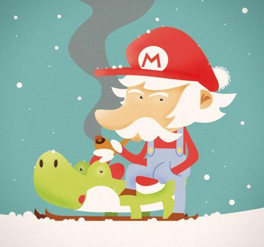 Postal de Navidad by Roswell