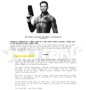 Documento filtración Fallout 4