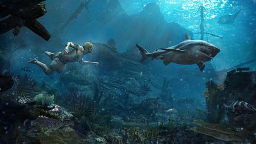 AC IV: Black Flag exploración submarina
