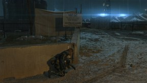 Metal Gear V Ground Zeroes Night PS3