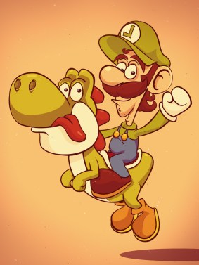 Luigi por Roswell