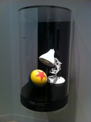 La lámpara de Pixar en la Exposición en Madrid