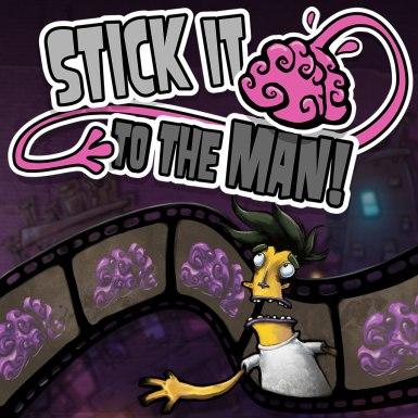 Logo Stick It to The Man
