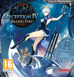 Portada de Deception IV Blood Ties