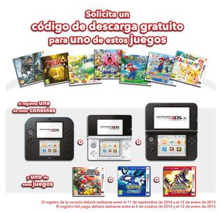 Nintendo promoción juegos