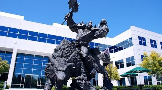 Exterior oficinas de Blizzard