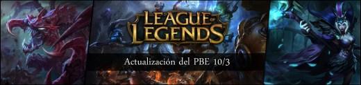 Imagen PBE 10-3 de League of Legends