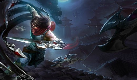 League-of-Legends-Dragonblade-Talon-Wallpaper