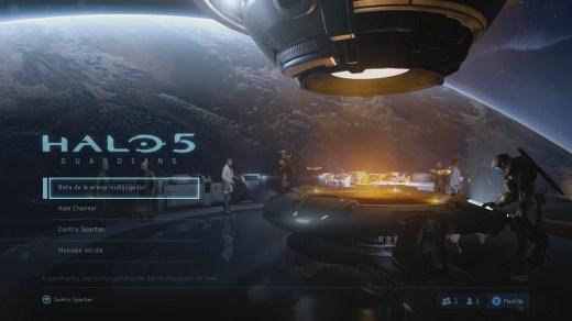 HALO 5 beta Screen Shot