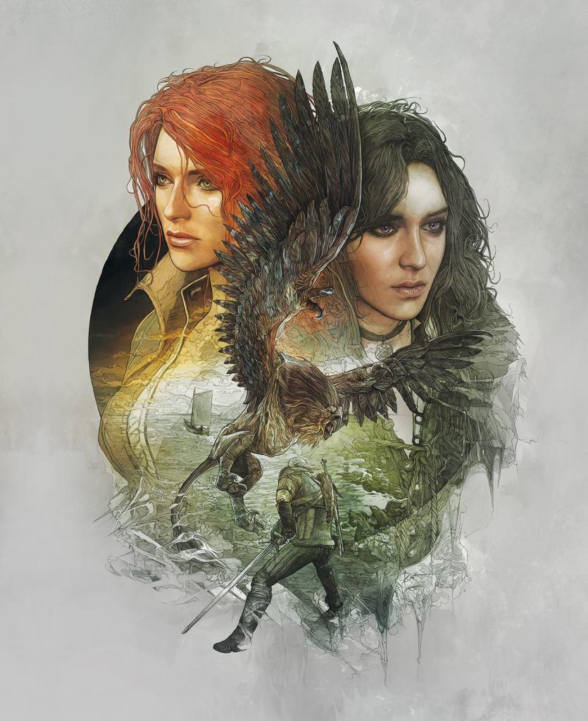 The Witcher 3 portada Novigrad trasera