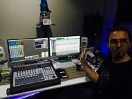Toni, el responsable de la estratosférica calidad de grabación