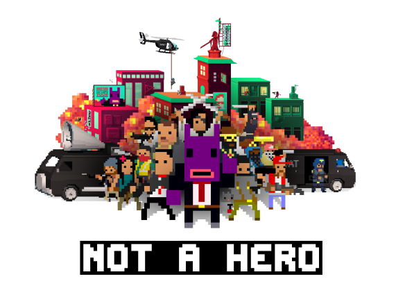 Not a Hero Wallpaper