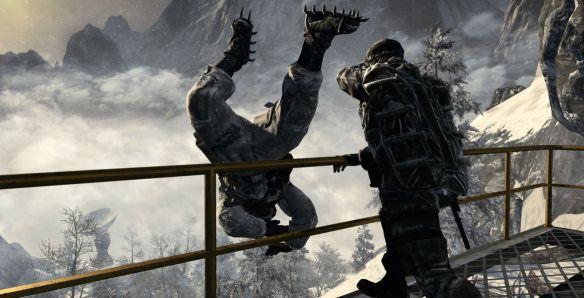 En los Call of Duty intentar salir del camino establecido supondrá el fin de la misión.