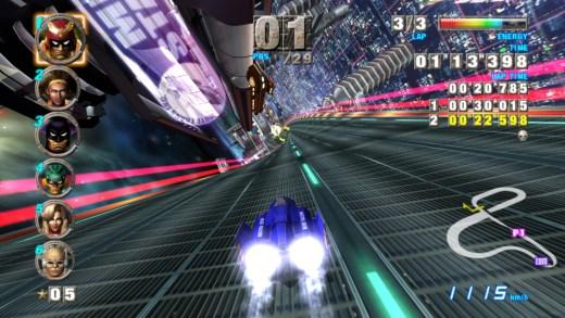Posiblemente, uno de los mejores juegos de la historia de Nintendo, F-Zero GX.