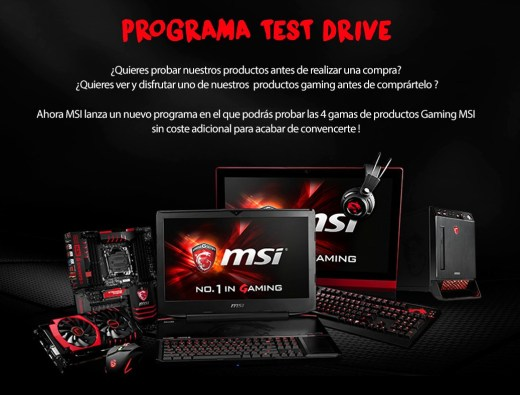 MSI TEST