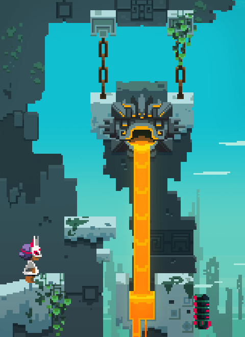 Cerulean Moon, donde FEZ meets ICO. Tremendo.