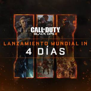 call of duty Black Ops III 4 dias