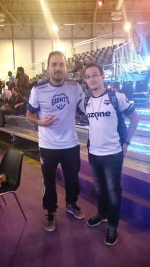 Con Alfonso Ramos