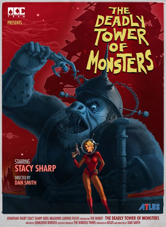 poster the deadly tower of monsters