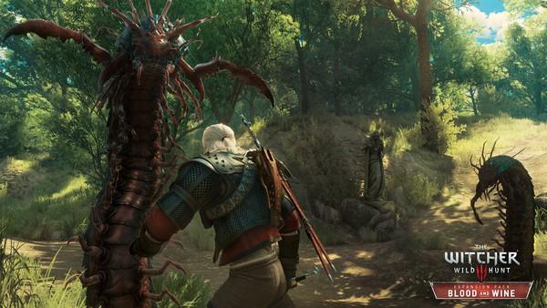 The Witcher 3 Sangre y Vino