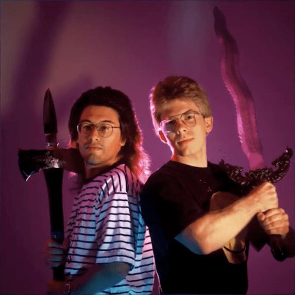 John Romero y John Carmack cuando formaban un Dream Team en id Software